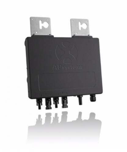 APSystems YC600 Micro-Omvormer voor aansluiting van 2 panelen   single fase 230V AC-50Hz   60/72 cells